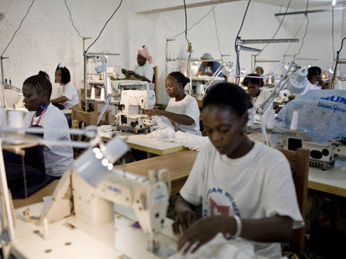 Garment manufacturing in Ghana